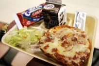 unhealthy lunch, fall 2014 blog